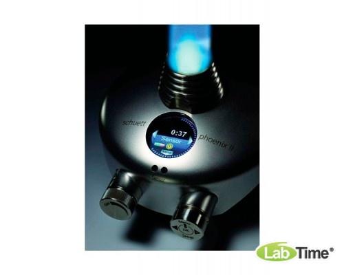 Горелка газовая Phoenix II accu, дисплей, выбор языка, поджиг от сенсора и педали,раб.от батар.