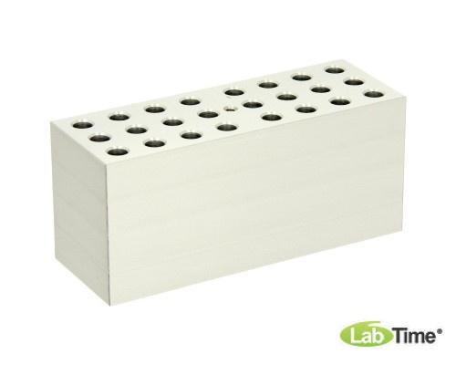 Блок QB-E0 (24 гнезда, 0,5 мл, глубина 30 мм)
