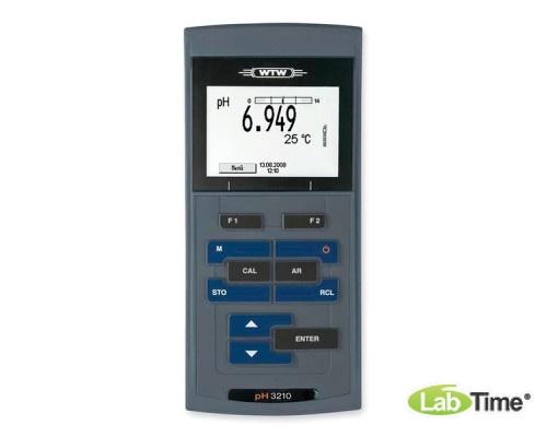 рН-метр ProfiLine pH 3210 set 4 в кейсе с аксессуарами и электродом Sentix 51