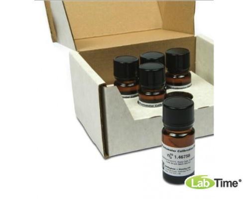 Раствор калибровочный AG7,5 для рефрактометров, nD 1,34401, Brix 7,50, упак. 5 х 5 мл