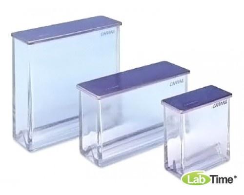 Камера для ТСХ, для пластин 20х20см двухсекционное дно (Twin trough) , стекл. крышка , Camag