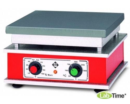 Плита нагревательная HT 02, алюминий, 300x300мм, 300град, Gestigkeit