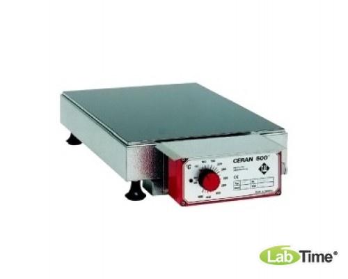 Плита нагревательная CERAN 500 Тип 22 A, стеклокерамика, 280x430мм, 500град, Gestigkeit