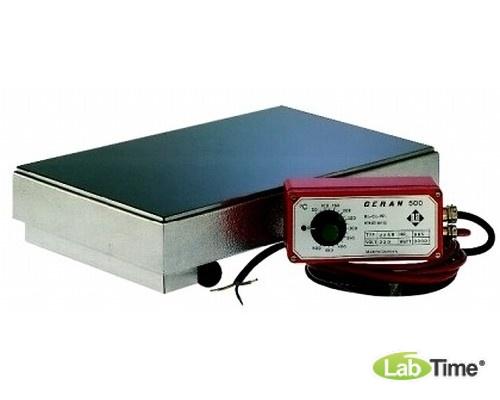 Плита нагревательная CERAN 500 Тип 33 SR,выносной регулятор,стеклокерам.,430x430мм,500гр,Gestigkeit