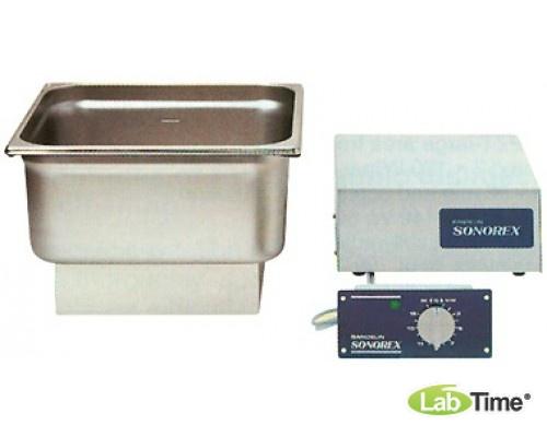 Ванна ультразвуковая SONOREX 13,5л ZE 514 (компл.вибрац.бак, ВЧ-генератор,блок управл. ST 15)