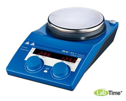 Мешалка магнитная с нагревом RET basic safety control IKAMAG