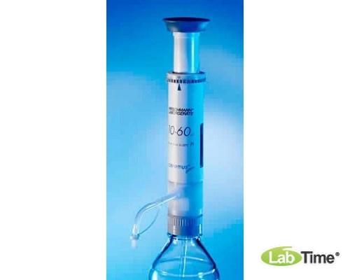 Дозатор бутылочный ceramus-classic 10,0 - 60,0 мл, Hirschmann