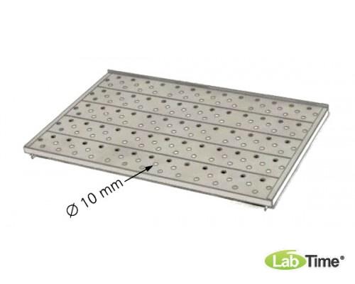 Полка перфорированная из нерж.стали для мод. 110,160 л