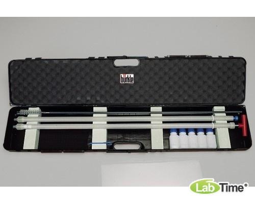 5330-1001 Комплект КвалиСамплер (QualiSampler), ПТФЭ, ЛиквиСамплер 100 см + ВискоСамплер 100 см + Чехол, 5 бутылей, щетка для очистки