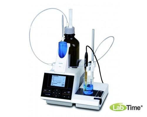 Титратор TitroLine 7000 с магнитной мешалкой, дозирующим блоком 20 мл и рН-электродом TL 7000-M2/20
