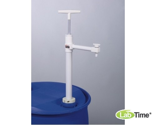 5606-1000 Насос для бочек Ультрапур (Ultrapure) ПТФЭ, сливная трубка, глубина погр. 95см, 400мл/такт