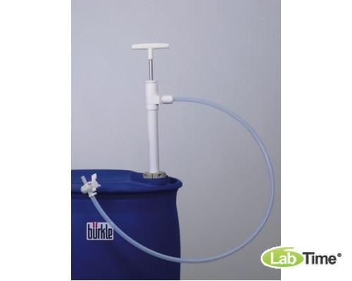5606-1001 Насос для бочек Ультрапур (Ultrapure) ПТФЭ, сливная гибкая трубка, глубина погр. 95см, 400мл/такт