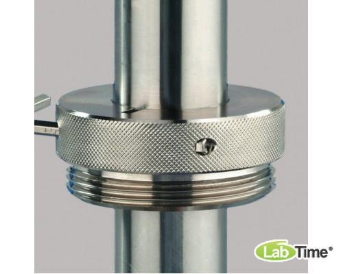 """5601-0100 Соединение резьбовое для бочек, латунь, R2"""", стальная мелкая резьба, внутренняя"""