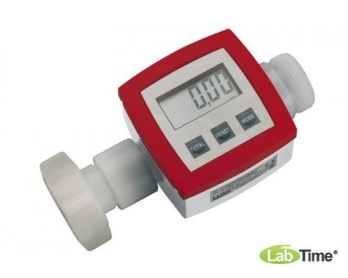 """5700-0141 Расходомер, ПВДФ 1 1/4"""" для высокоагрессивных жидкостей, хлорных отбеливателей, азотной кислоты, серной кислоты и т.д"""