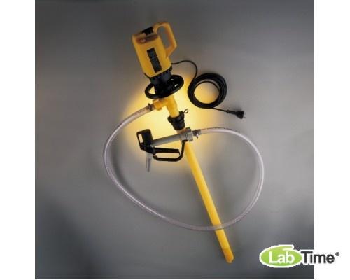 5762-0100 Насос для баков в комплекте (для кислот и щелочей - слабые кислоты, в том числе хлороводородная, фосфорная, хромовая, лимонная, электролиты для аккумуляторов и т.д.)