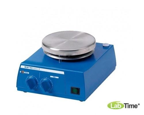 Мешалка магнитная с нагревом RH basic 2 IKAMAG