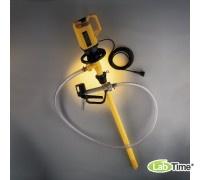 5762-0101 Насос для баков в комплекте (для кислот и щелочей - слабые кислоты, в том числе хлороводородная, фосфорная, хромовая, лимонная, электролиты для аккумуляторов и т.д.)