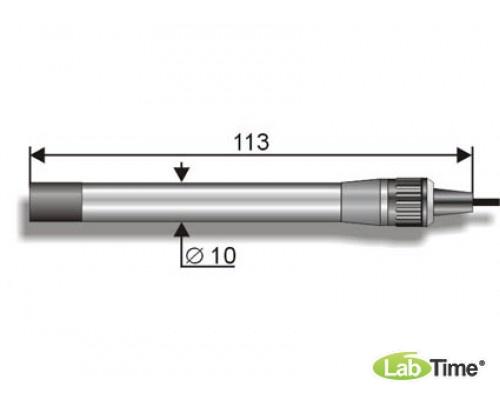 """Электрод хлор-селект. """"ЭЛИС-131"""" Cl (К80.3) /рН:2..11, t:5..50 С/ кристаллический"""