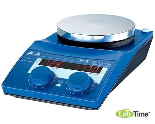Мешалка магнитная с нагревом RCT basic safety control IKAMAG