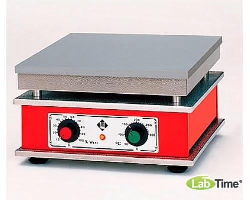 Плита нагревательная HT 12, алюминий, 350x350мм, 300град, Gestigkeit