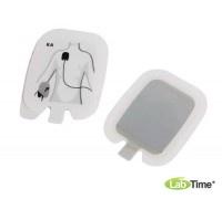 Одноразовые электроды для дефибрилляции и ритмоведення (взрослые или детские), 10 пар