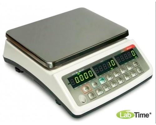 Весы AXIS BDL15 IVкл (15000/10/1г, 250х180 мм)