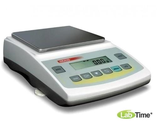 Весы AXIS ADG 4000 С IIIкл (4000/0,5/0,01г, 165х165 мм)