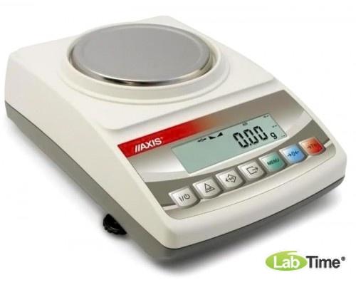 Весы AXIS BTU 210D IVкл (210/0,2/0,01г, d-115 мм)