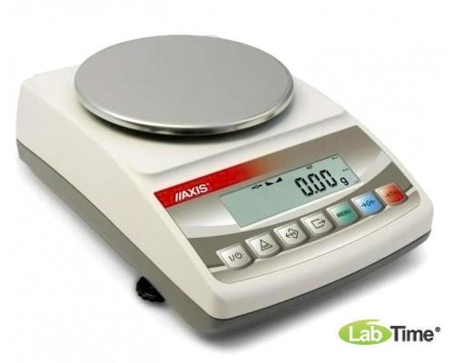 Весы AXIS BTU 2100D IVкл (2100/2/0,1г, d-150 мм)