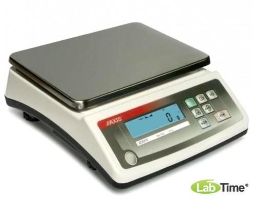 Весы AXIS BDM15 IVкл (15000/10/0,5г, 250х180 мм)