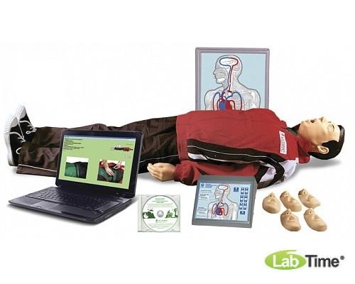Максим В/Р (Т28к)Тренажёр сердечно-лёгочной и мозговой реанимации взрослого и ребёнка