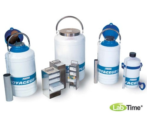 Сосуд Дьюара VOYAGEUR V-12, объем 15 л для безопасной транспортировки биологических материалов