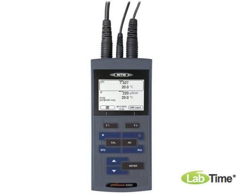 pH-метр/кондуктометр портативный pH/Cond 3320 SET 2, в компл. с датчиком SenTix® 41 и TetraCon® 325